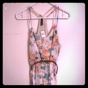 Tully's floral print hi-low dress
